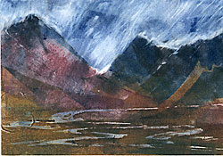 The Buachailles, Head of Glencoe